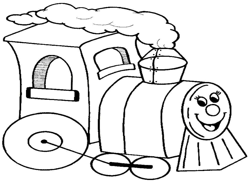 картинка раскраска паровоза сказочного хочется