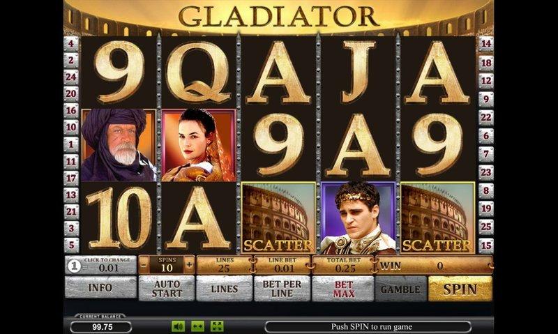 Игровые аппараты глодиатор играть в казино вулкан онлайн бесплатно