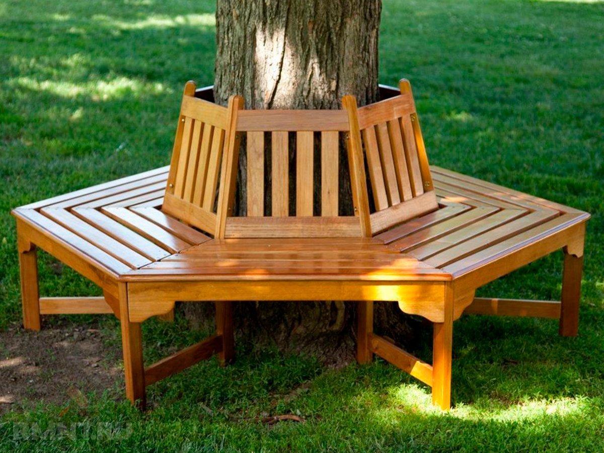Садовая мебель из дерева своими руками фото