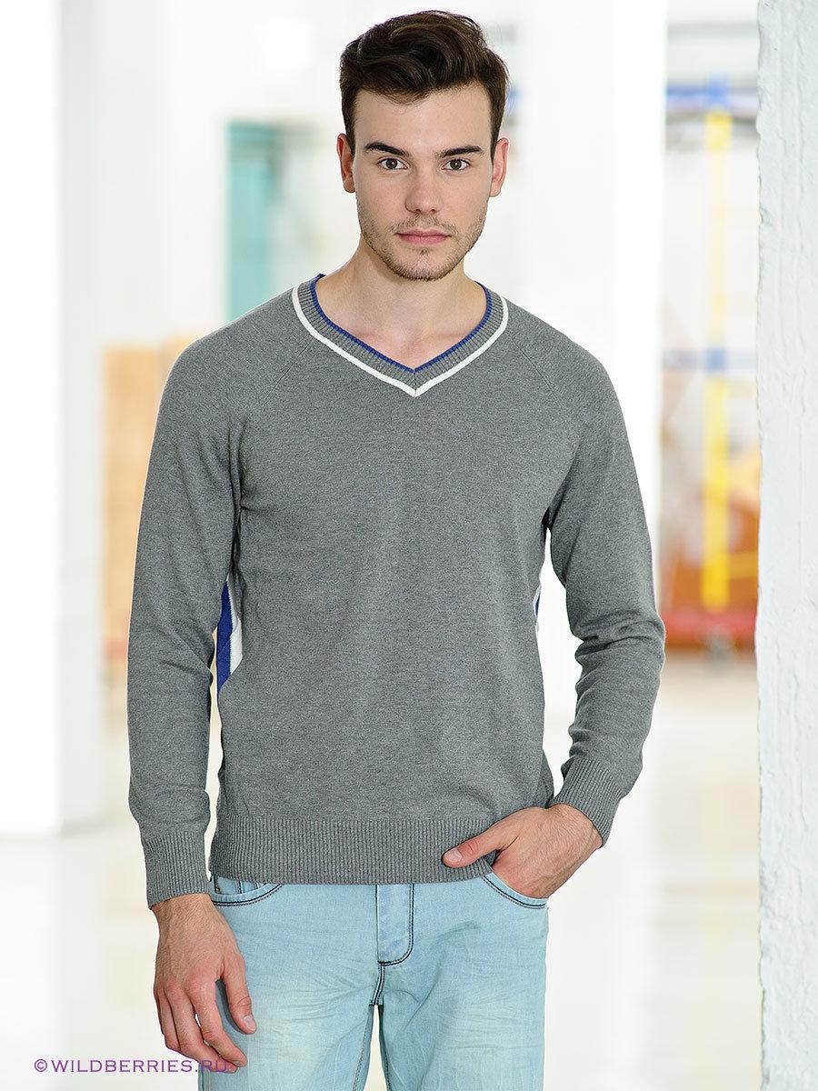 Пуловер С Вырезом