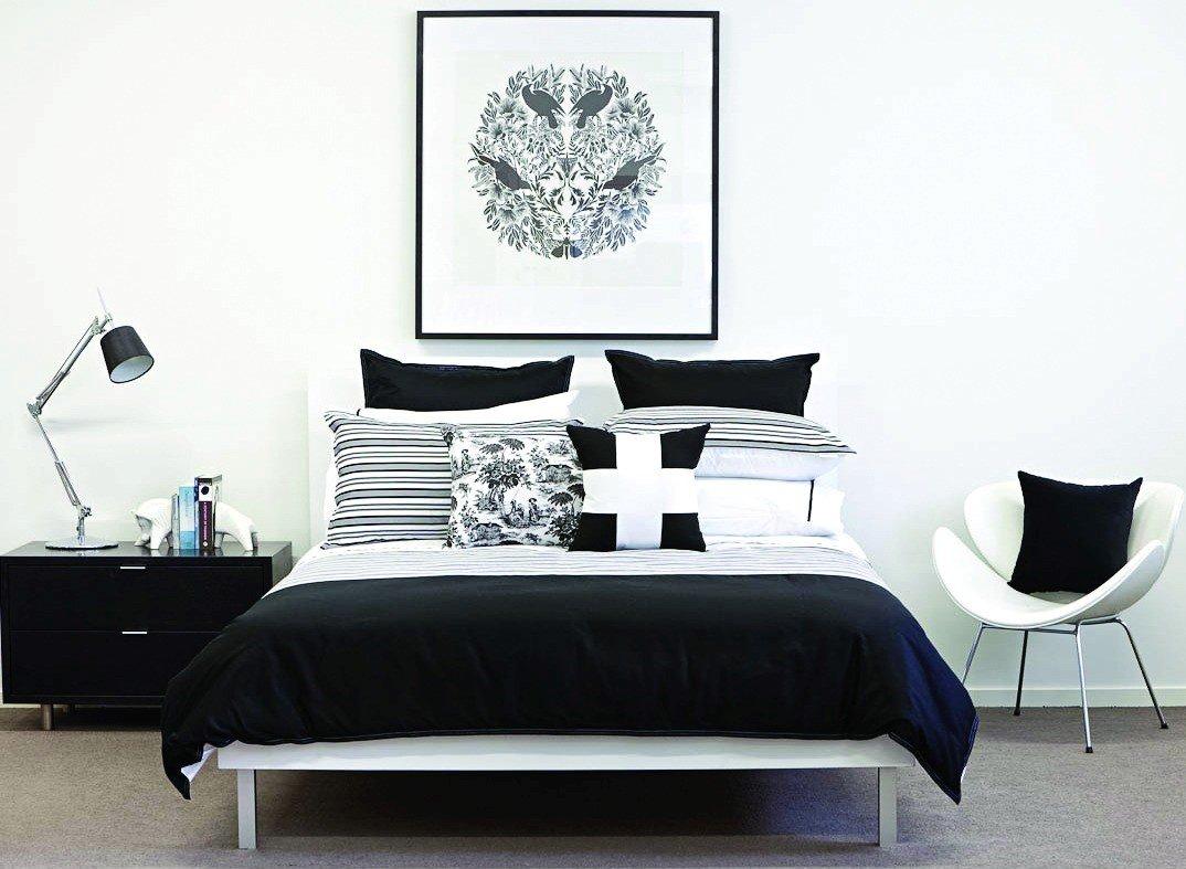 экологическое постер черно белый в спальню будут нести