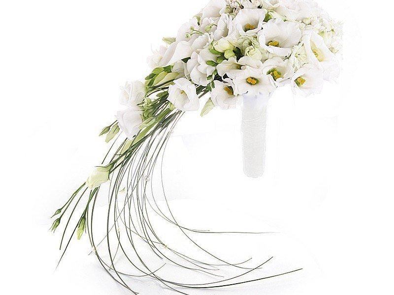 Президиум, букет невесты в виде капли