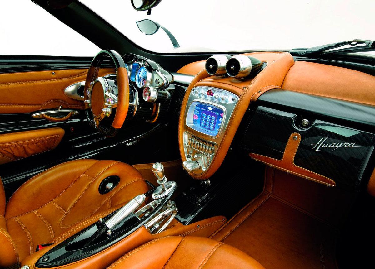 pagani huayra interior - HD1200×863