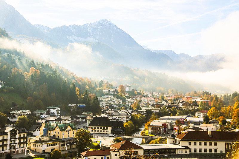 Городок под горами