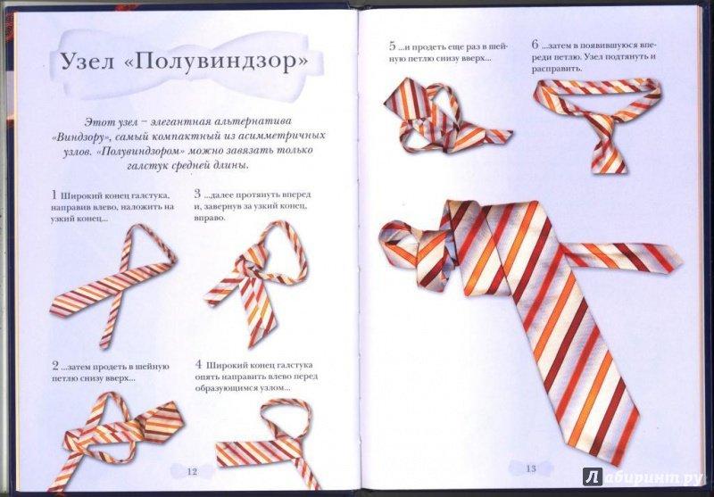 верхней узлы галстука в картинках и названия гола