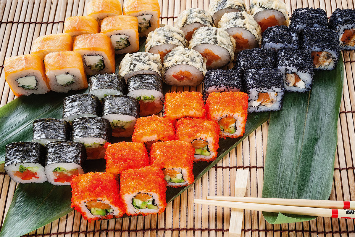 Картинки суши с названиями