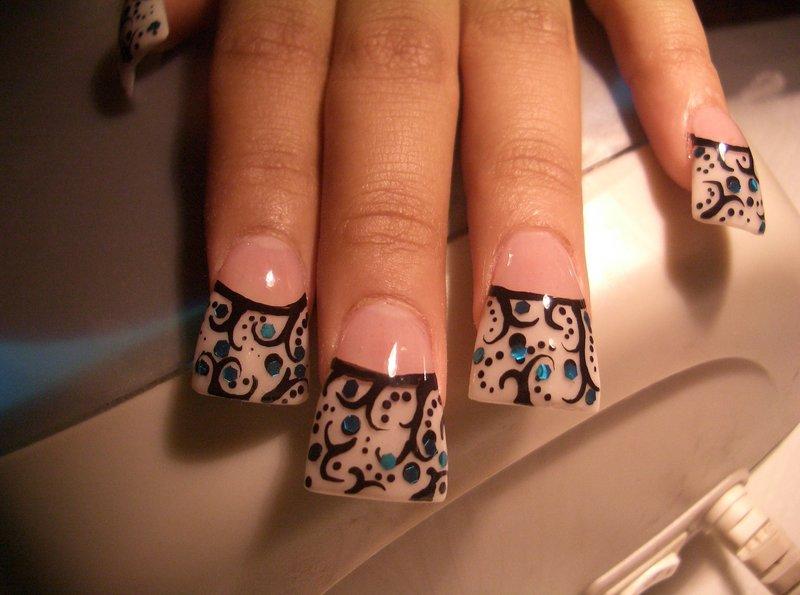 Прикольные нарощенные ногти рисунки фото