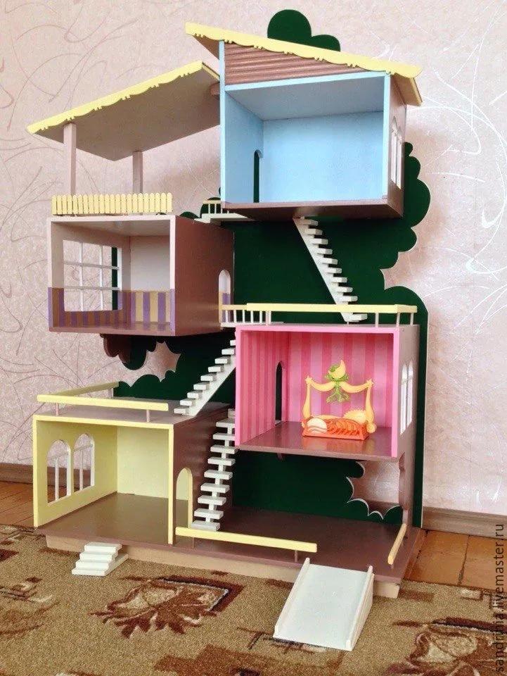 Изготовление кукольных домиков из фанеры