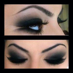 Темный макияж глаз - Обсуждение темный макияж глаз темный макияж глаз