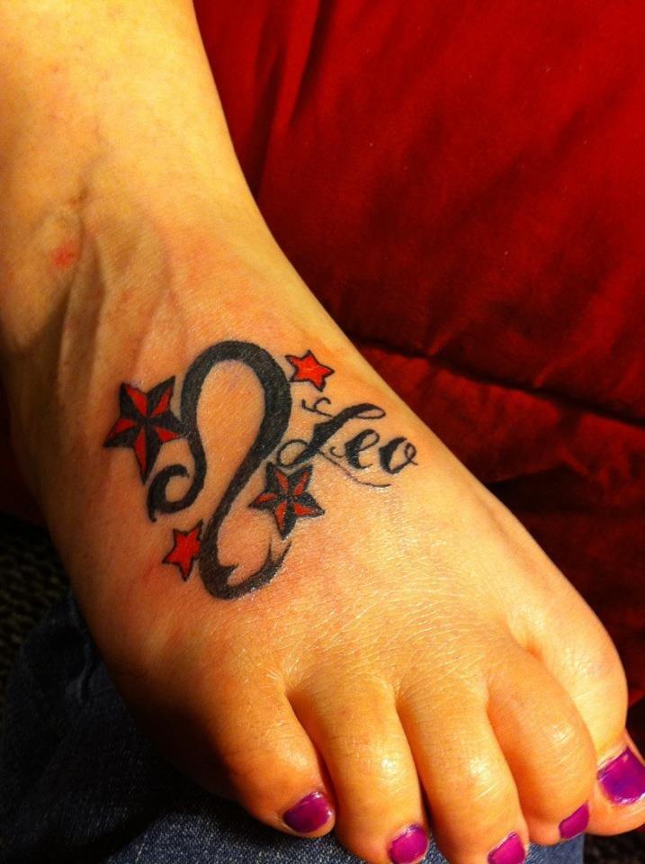 Татуировка знак зодиака лев пользуется особым успехом у любителей нательной живописи.