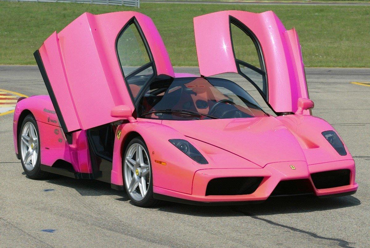 Машины розовые машины