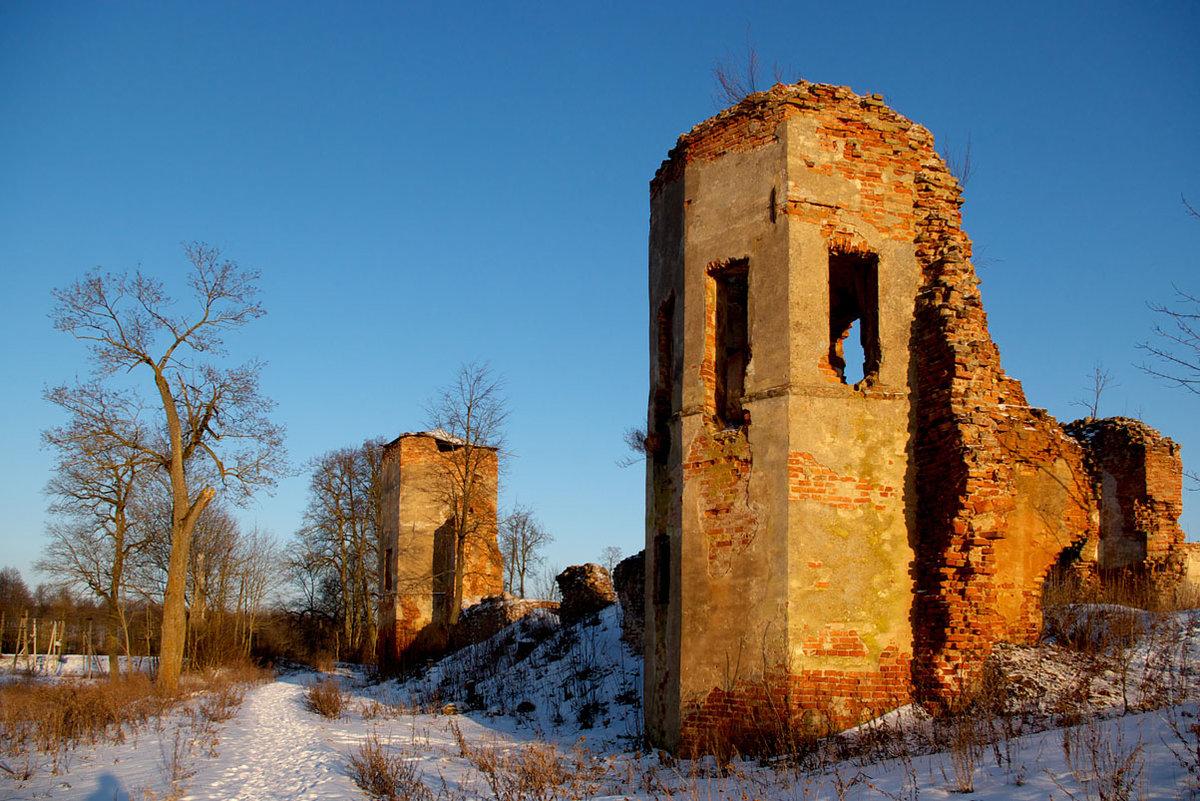 гольшанский замок фото предпочитают покинуть жилище