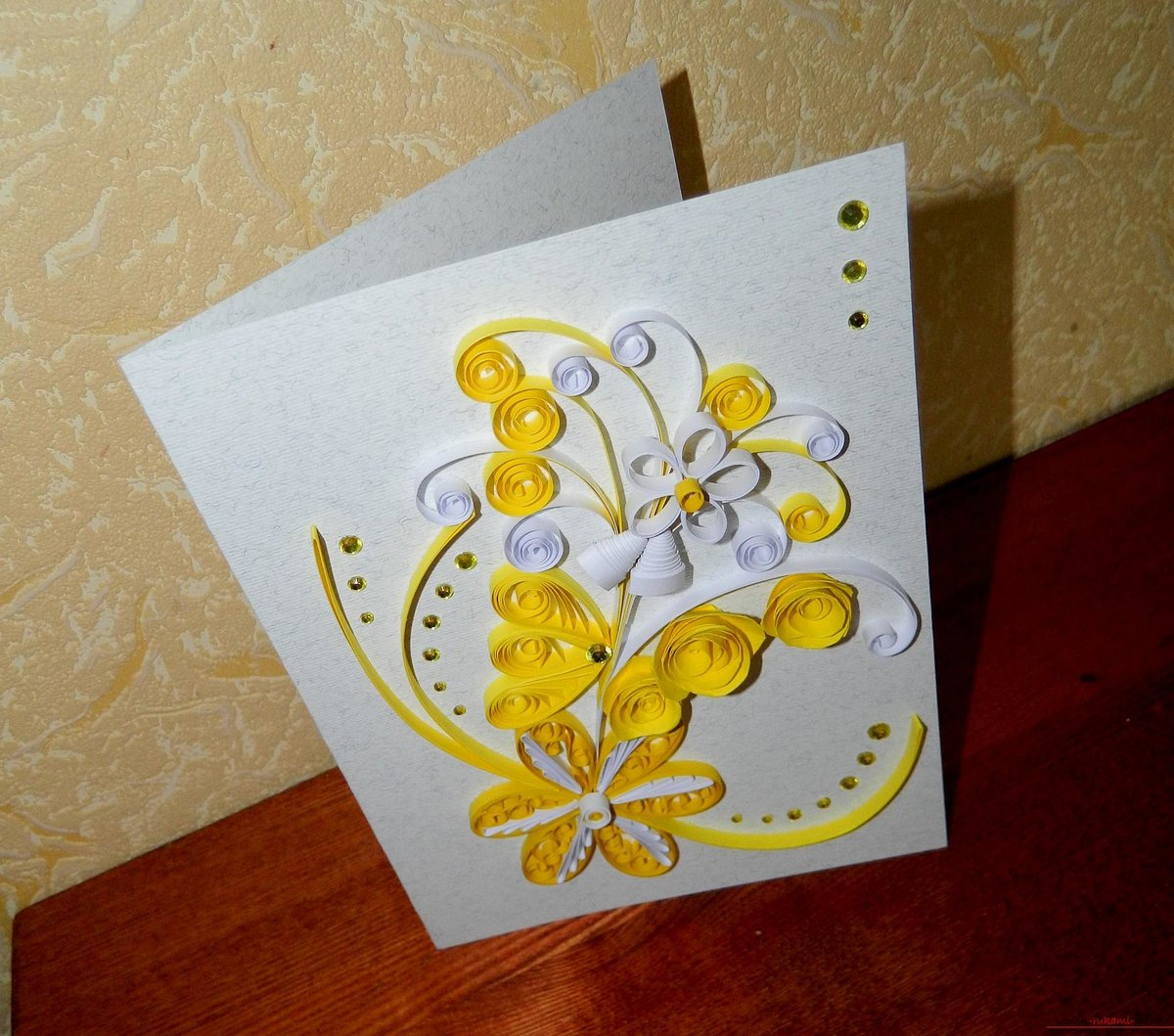 Изготовление открыток самостоятельно