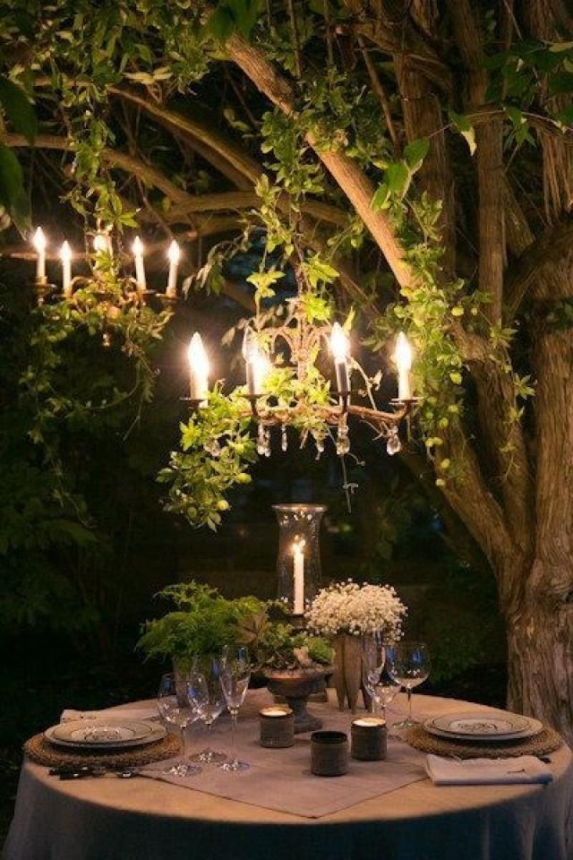 Картинки вечер в саду ужин, красивые открытки