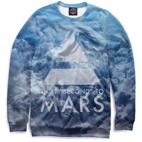 Мужской свитшот 3D 30 Seconds to Mars