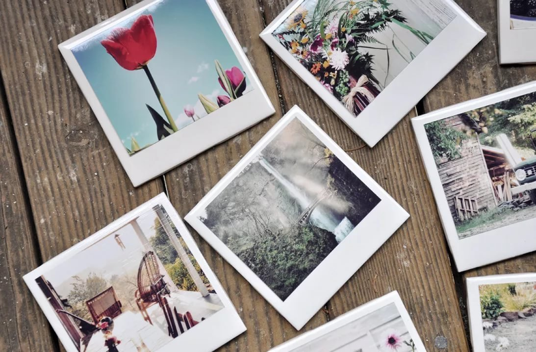 Открытка из фотографии печать, картинки