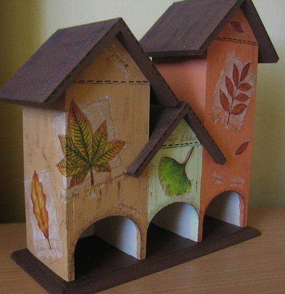 Чайные домики из фанеры  фото 170
