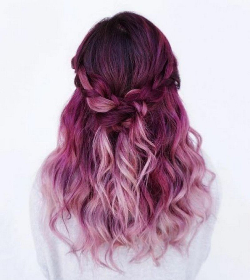 Best 25 Fun Hair Color Ideas On Pinterest Diffe Co