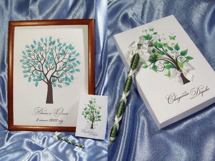 Монстер, дерево пожеланий открытка
