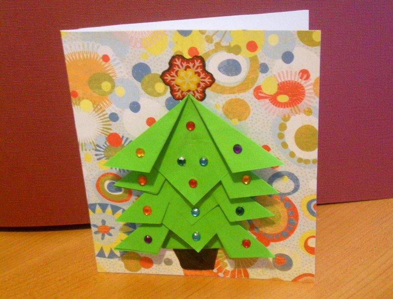 Проект новогодняя открытка в подготовительной группе, поздравительные крестнице днем