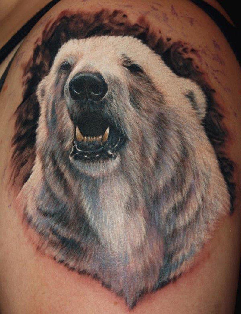 люди картинки наколки с белым медведем лечебном корпусе
