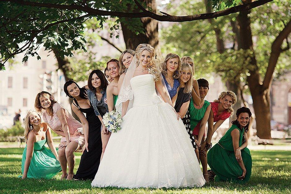 Групповушки на свадьбах