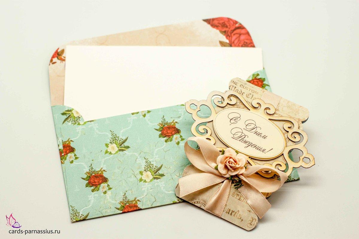 Скрапбукинг открыток и конвертов, делают открытки