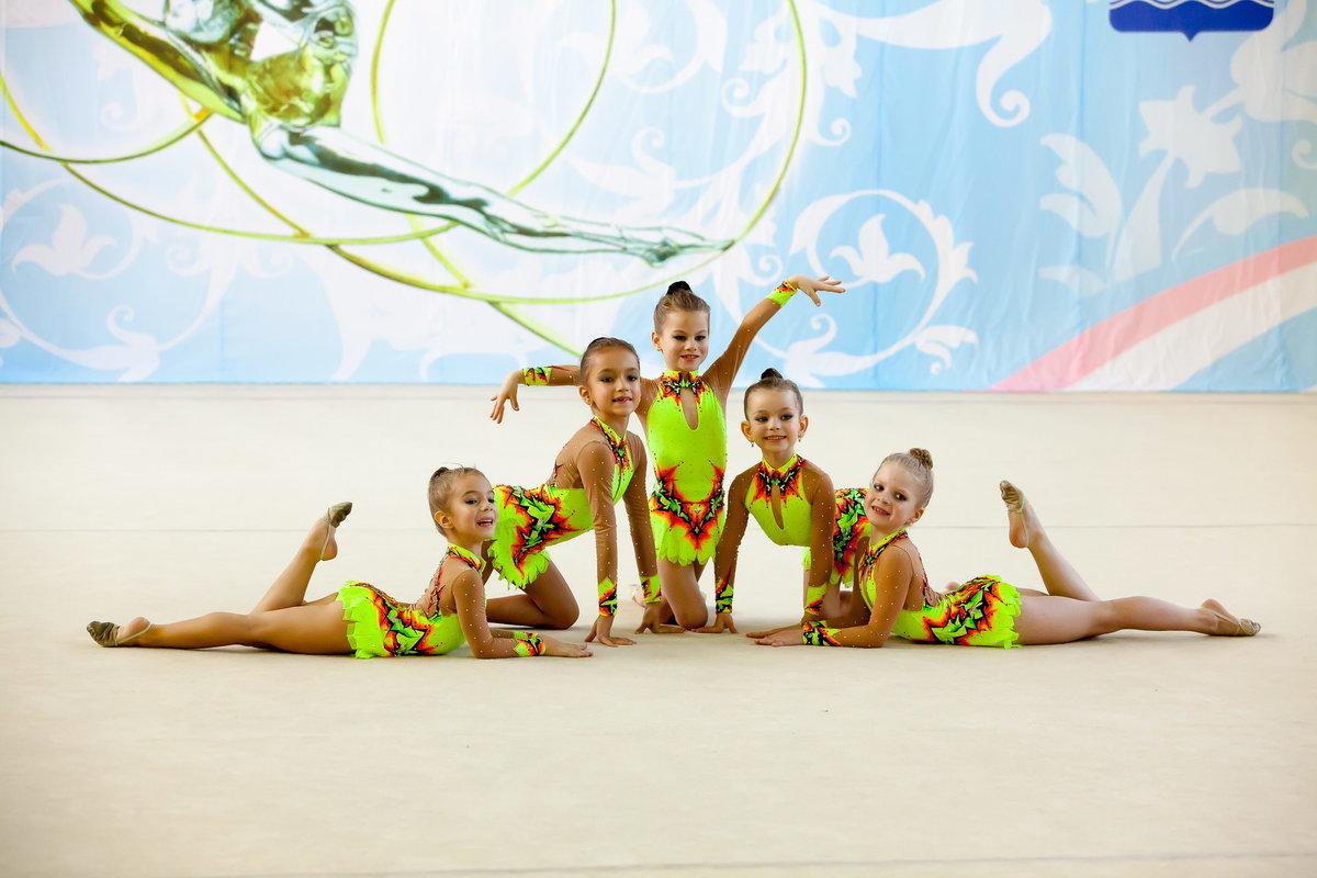 Картинка гимнастика детская