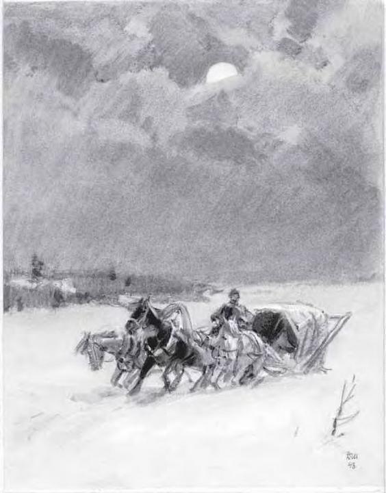метель пушкин картинки свиридов