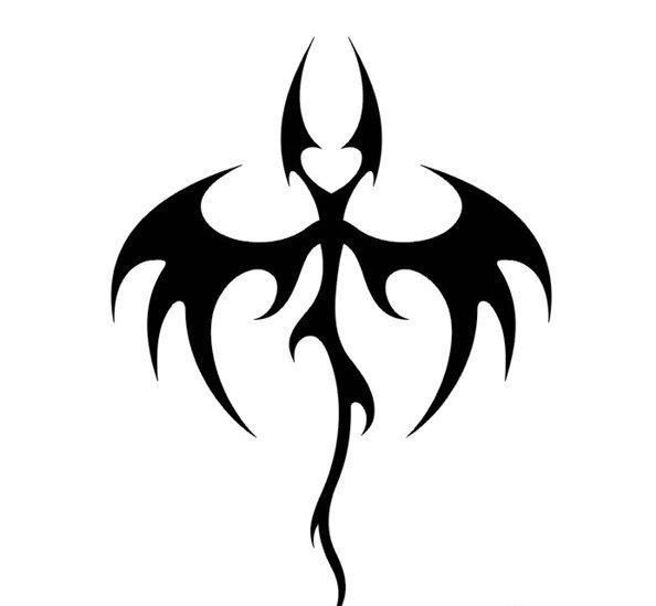 Эскиз трайбл татуировки -летучая мышь » — карточка пользователя ...