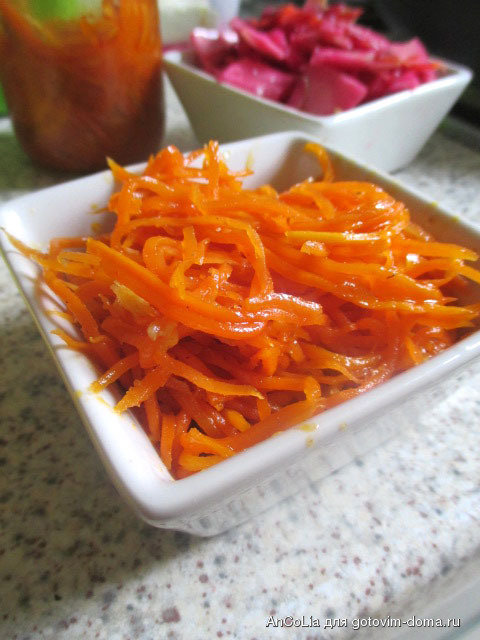 морковь по корейски готовим дома