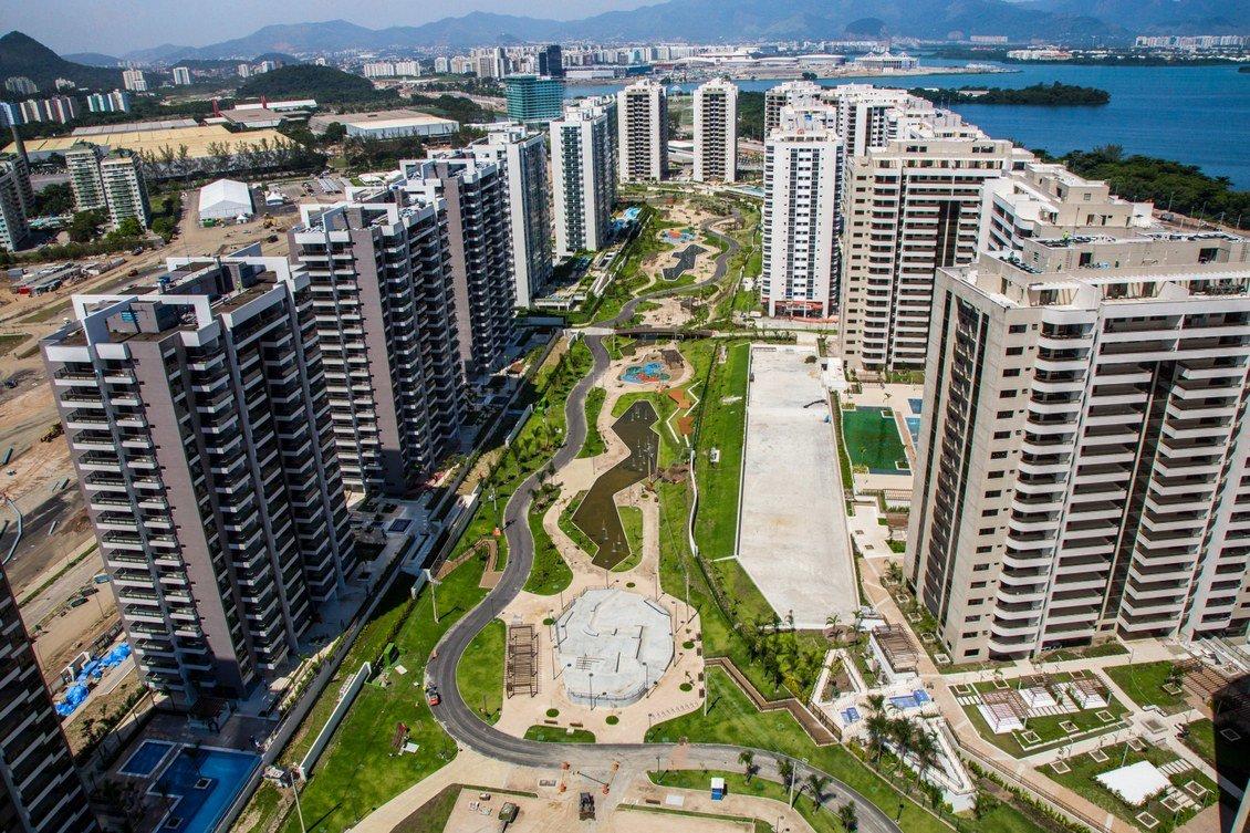 этому фото из олимпийской деревни в рио выглядит как