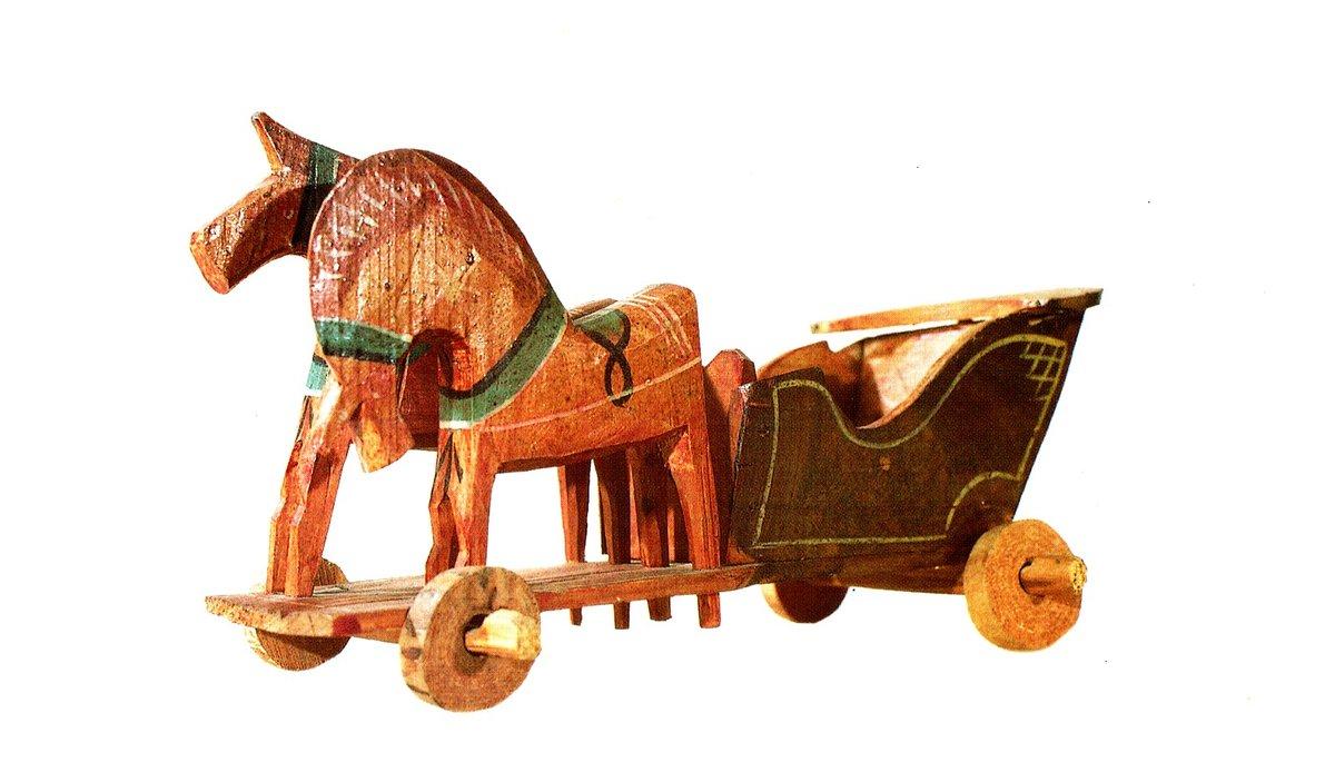 картины древнерусская игрушка лошадь картинки бывают