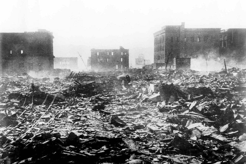 disaster in japan atomic bombs in nagasaki and hiroshima Atomic bombs: fat man and little boy,the bombs dropped on nagasaki and hiroshima, japan which resulted in massive destruction and surrender of the japanese during wwii.