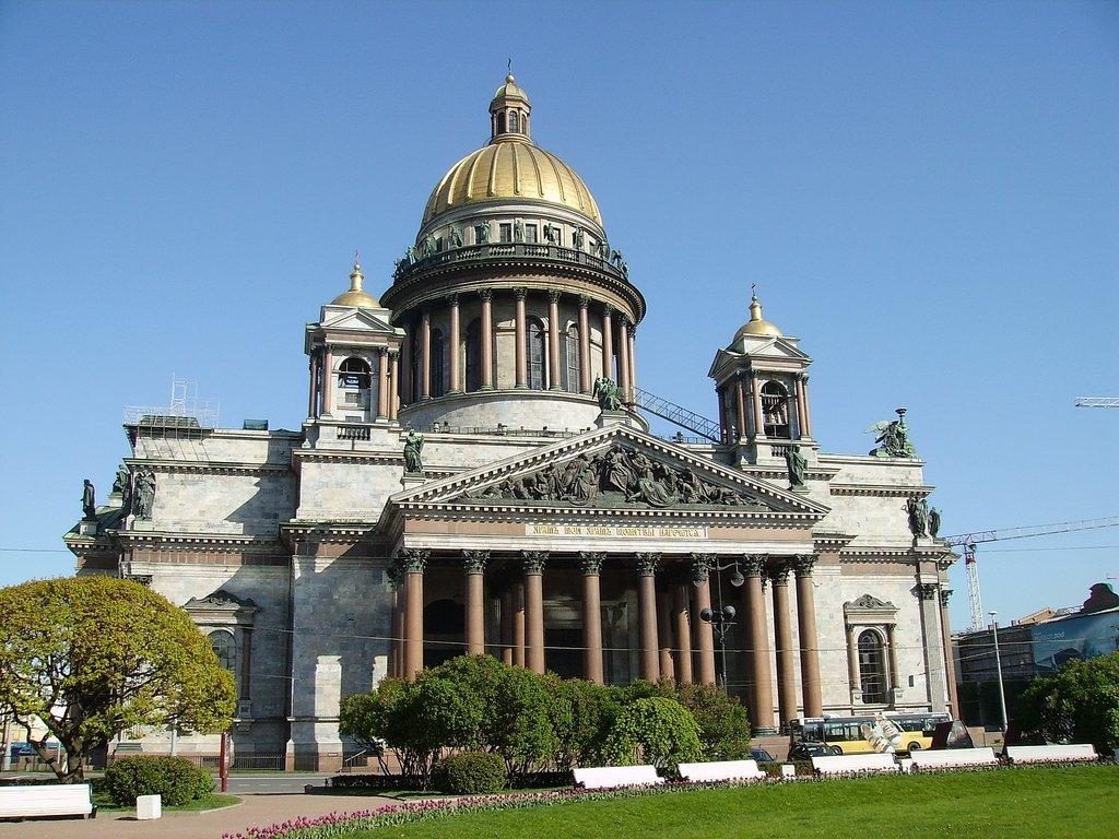 картинка исаакиевский собор в питере жилой