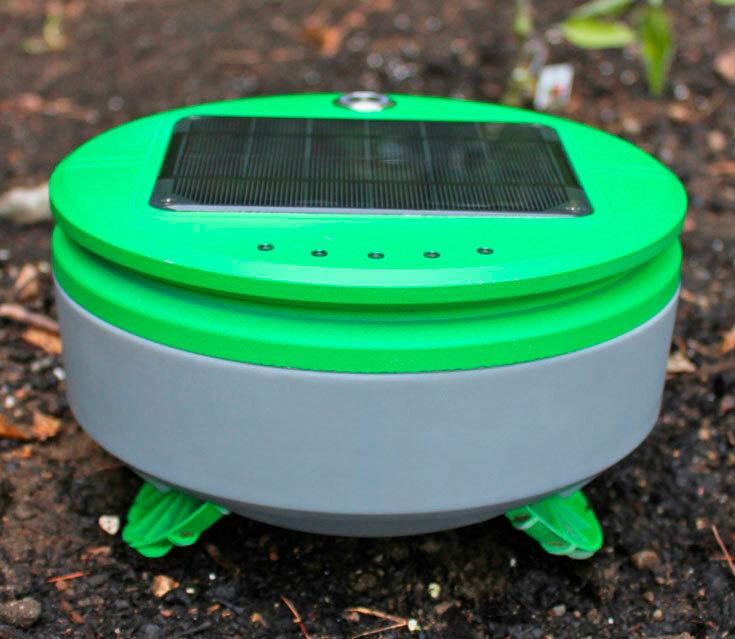 Робот для прополки сада