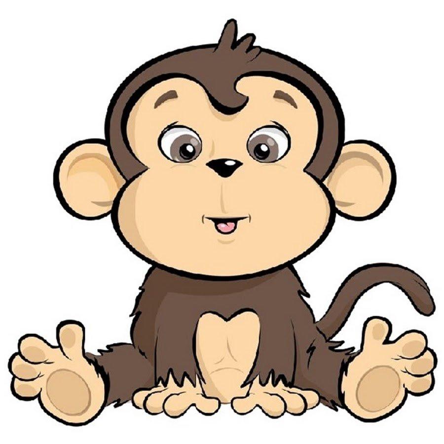 Картинки с обезьянкой для детей