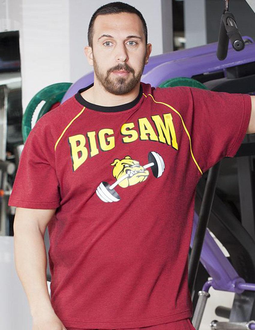 Мужская одежда Big Sam для бодибилдинга и фитнеса в магазинах шоурум в  Москве, Калуге, 4513df381de