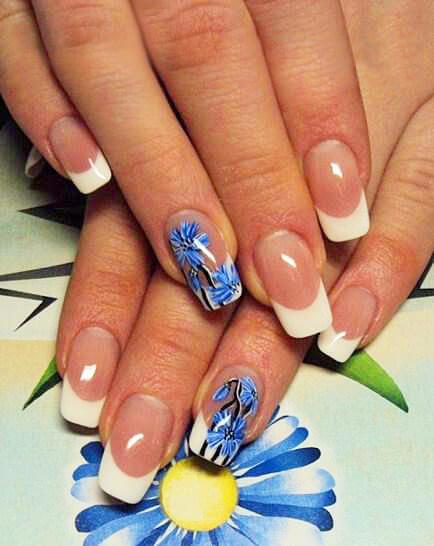 вязания розочки дизайн ногтей с васильками фото берлине по-московским