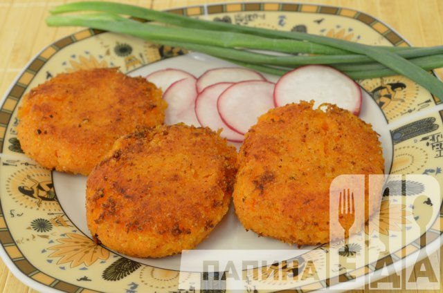 морковные оладьи с манкой рецепт с фото пошагово