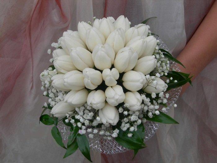 Роз доставка, свадебные букеты с ландышами и тюльпанами фото