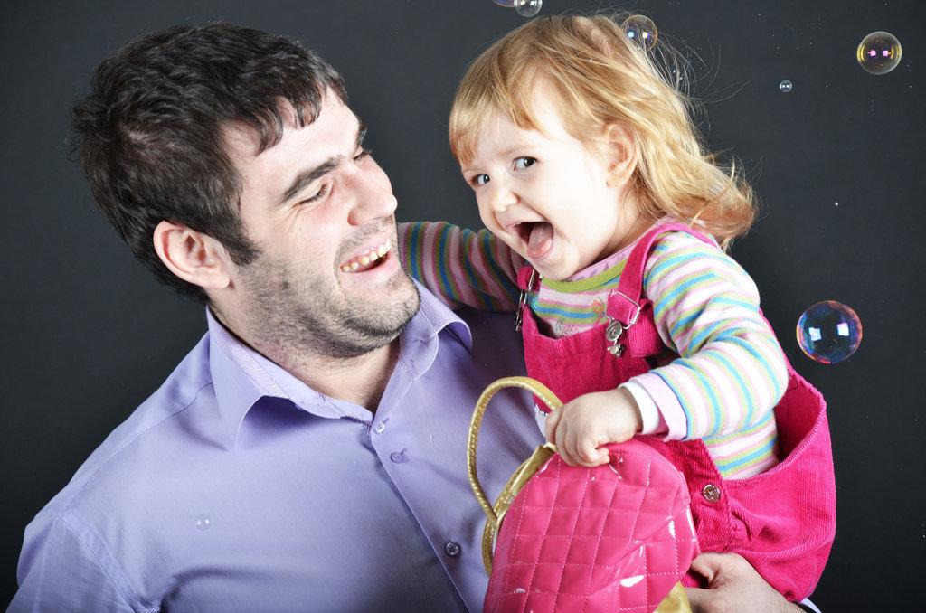 Картинки про пап с дочками