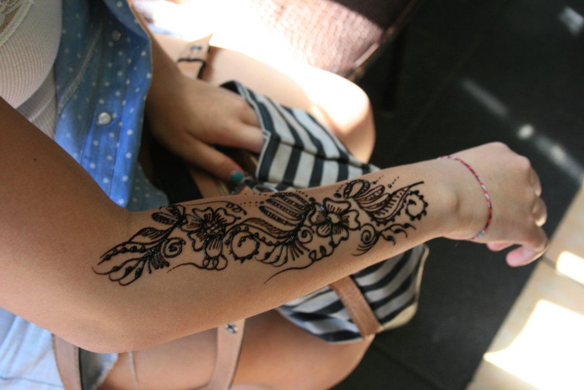 татуировки на руках фото женские