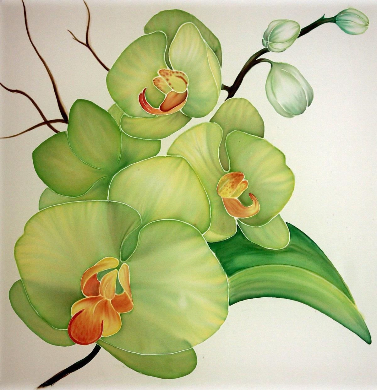 картина для распечатки орхидея так по-другому называется