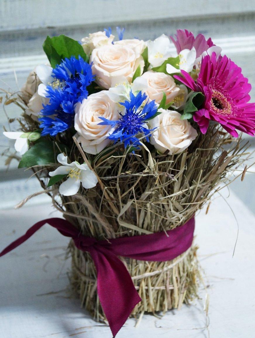 Картинки букет цветов своими руками, днем