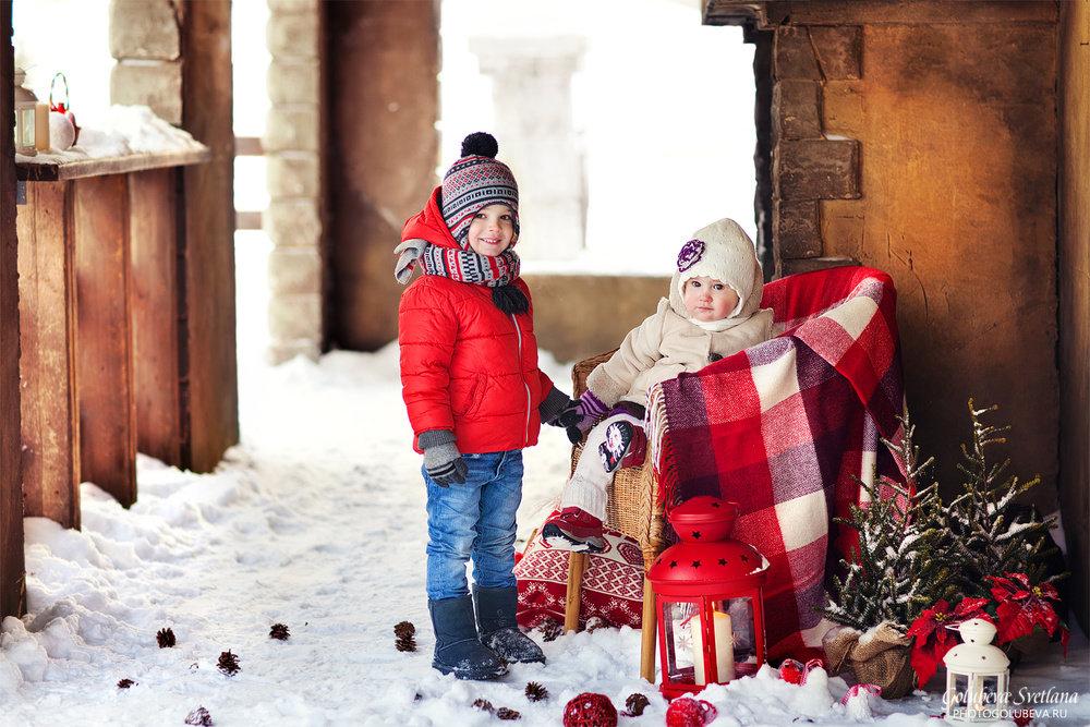 приятно морозный фотосессия с детьми зимние провоцируется развитием инфекционных