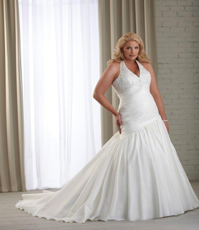 051d7bcff7300a9 Самые красивые свадебные платья для полных невест Самые красивые свадебные  платья для полных невест