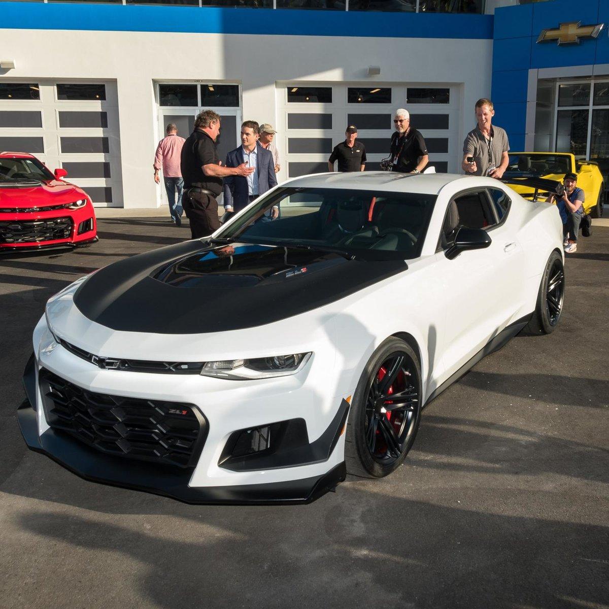 Quot Chevrolet недавно показал свой самый трековый вариант