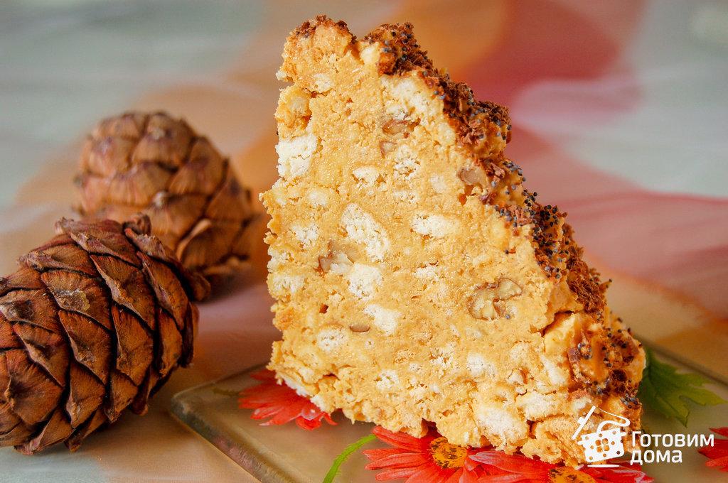 Торт муравейник из печенья рецепт с фото