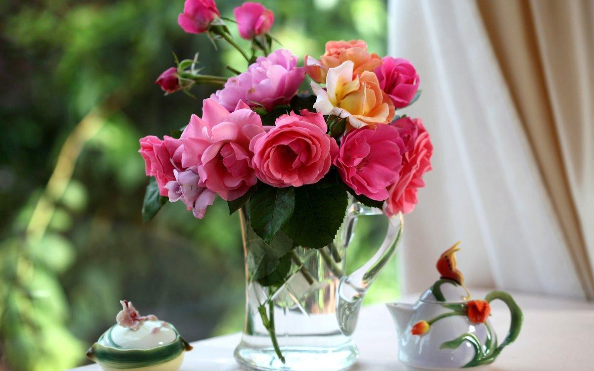 Картинка с прекрасными цветами, сдал